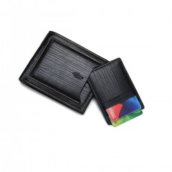 GENUINE Leather Wallet Mens...