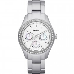 Fossil Ladies Silver Watch...