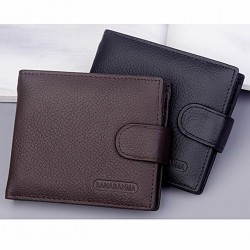 Genuine Leather Soft Wallet...