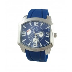 Saphir Mens Blue Watch High...