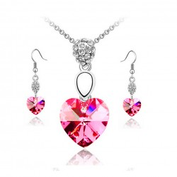 Hot Pink Swarovski Crystal...