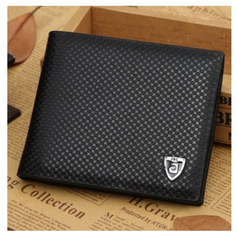5d3cb4733 Delightful men's leather wallet featuring 7 card slots, two cash notes  compartments on top and an ID card slot.