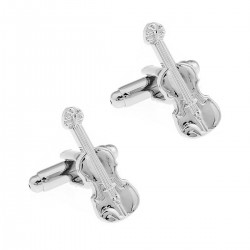 Music Silver Violin Novelty...