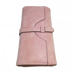 Pink Clutch Purse with Card...