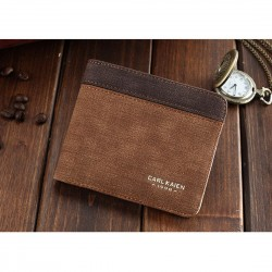 PU Leather Wallet in Beige...